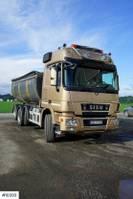 kipper vrachtwagen > 7.5 t Sisu Polar V8 8x4 w/pusher and Steel suspension. 2014