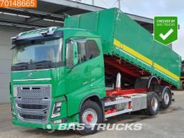 kipper vrachtwagen > 7.5 t Volvo FH 16 6X2 VEB+ Big-Axle Lift+Steering Axle 26m3 Xenon 2013