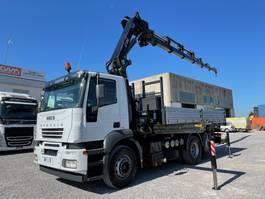 kipper vrachtwagen > 7.5 t Iveco Stralis 430 Stralis 260S43 + HIAB 288E6 2005