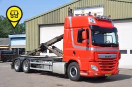 containersysteem vrachtwagen DAF CF 460 .HAAK 30-TON .403799 KM.NL-TRUCK 2017