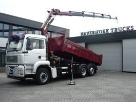 kipper vrachtwagen > 7.5 t MAN TGA 26 6x4-4 Hydrodrive Kipper Atlas Terex 162.5 2E A5LCrane 2006