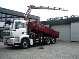 kipper vrachtwagen > 7.5 t MAN TGA 26 6x4-4 Hydrodrive Kipper Atlas Terex 165.2 2E A5LCrane 2006