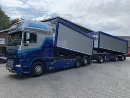 kipper vrachtwagen > 7.5 t DAF XF 460 6X2 76m3 Kipper Combination/Kombi EURO 5 - Manual 2010