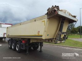 kipper oplegger Schmitz Cargobull Semitrailer Benne aluminium 24m³ 2011