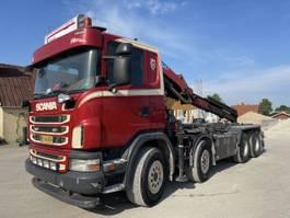 containersysteem vrachtwagen Scania G400 HMF 2620K5 år 2017 2011