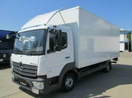bakwagen vrachtwagen Mercedes-Benz Atego 818 IV L Koffer 6 m LBW 1 to.*AHK*Luft HA 2018