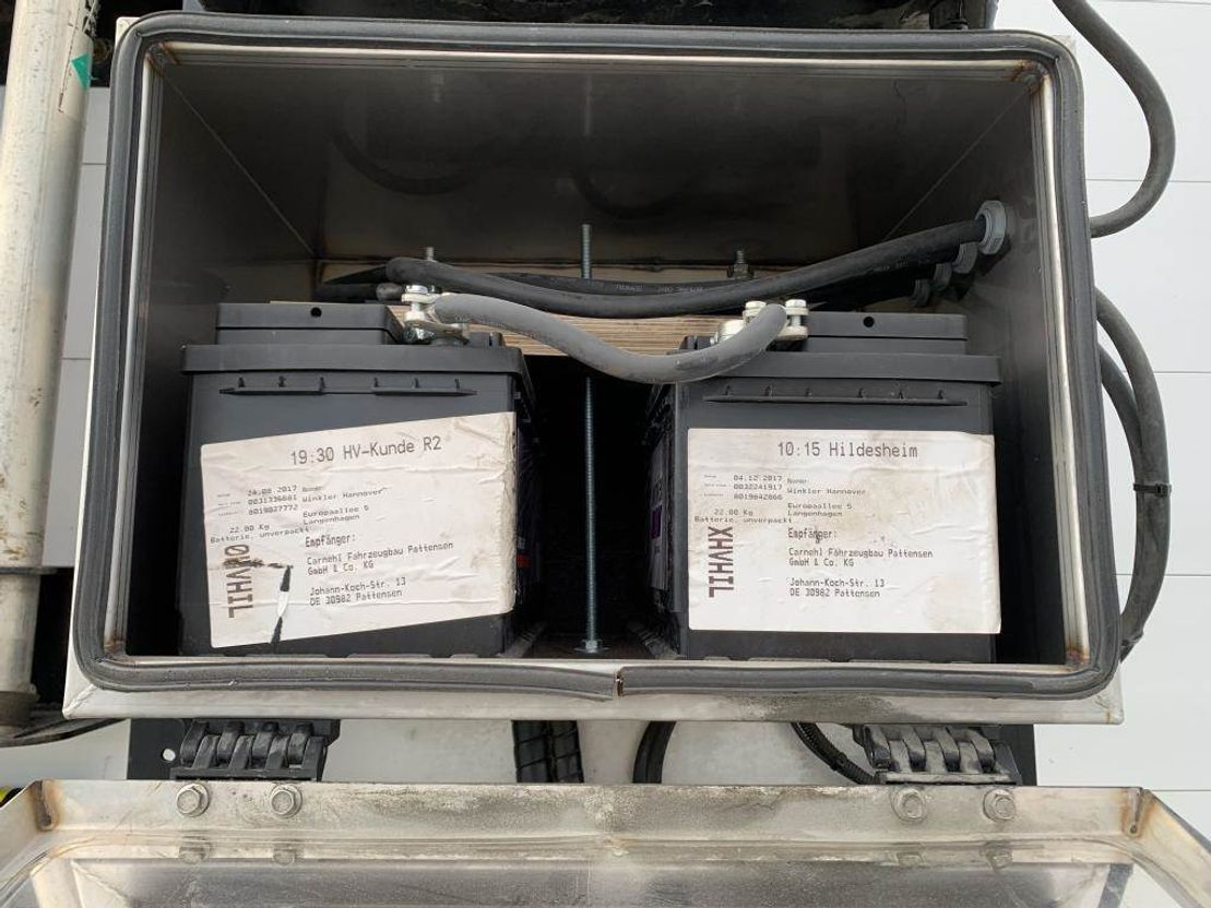 dieplader oplegger Carnehl 4-akslet maskinhenger 2018