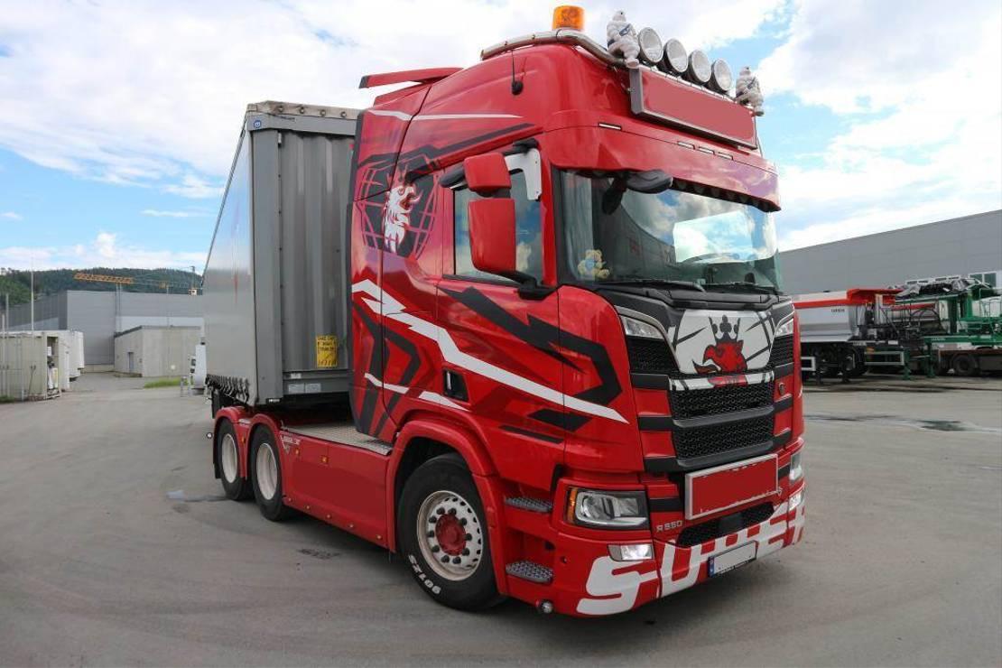 standaard trekker Scania R650 2020