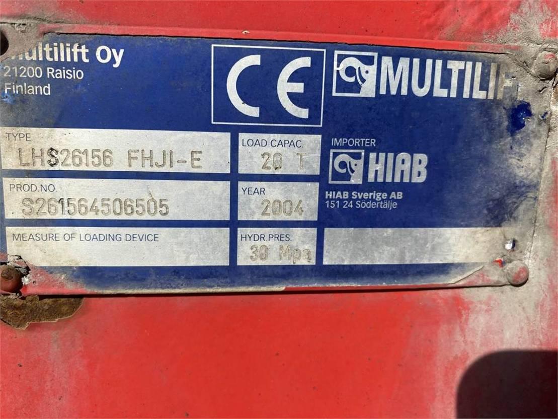 containersysteem vrachtwagen Volvo FH 16 8x4 2005