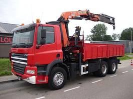 kipper vrachtwagen > 7.5 t DAF CF 85 380  6X4 TIPPER+PALFINGER 21500+EURO 3+MANUAL+STEEL 2003