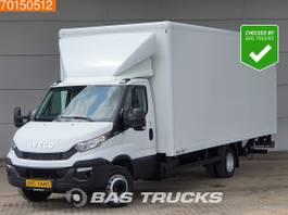 gesloten bestelwagen Iveco 72C17 Automaat Laadklep Luchtvering Bakwagen Meubelbak A/C Cruise control 2015