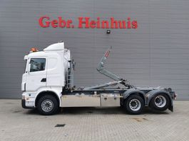 containersysteem vrachtwagen Scania R480 6x2 Hiab Multilift 20 Tons Hooklift! 2008
