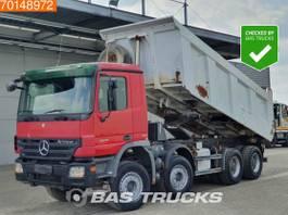 kipper vrachtwagen > 7.5 t Mercedes-Benz Actros 4141 8X4 Meiller Kipper Big-Axle 2007