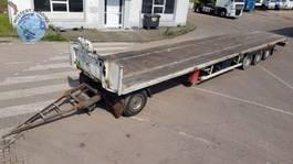 platte aanhanger vrachtwagen Groenewegen 90CM hoge aanhanger