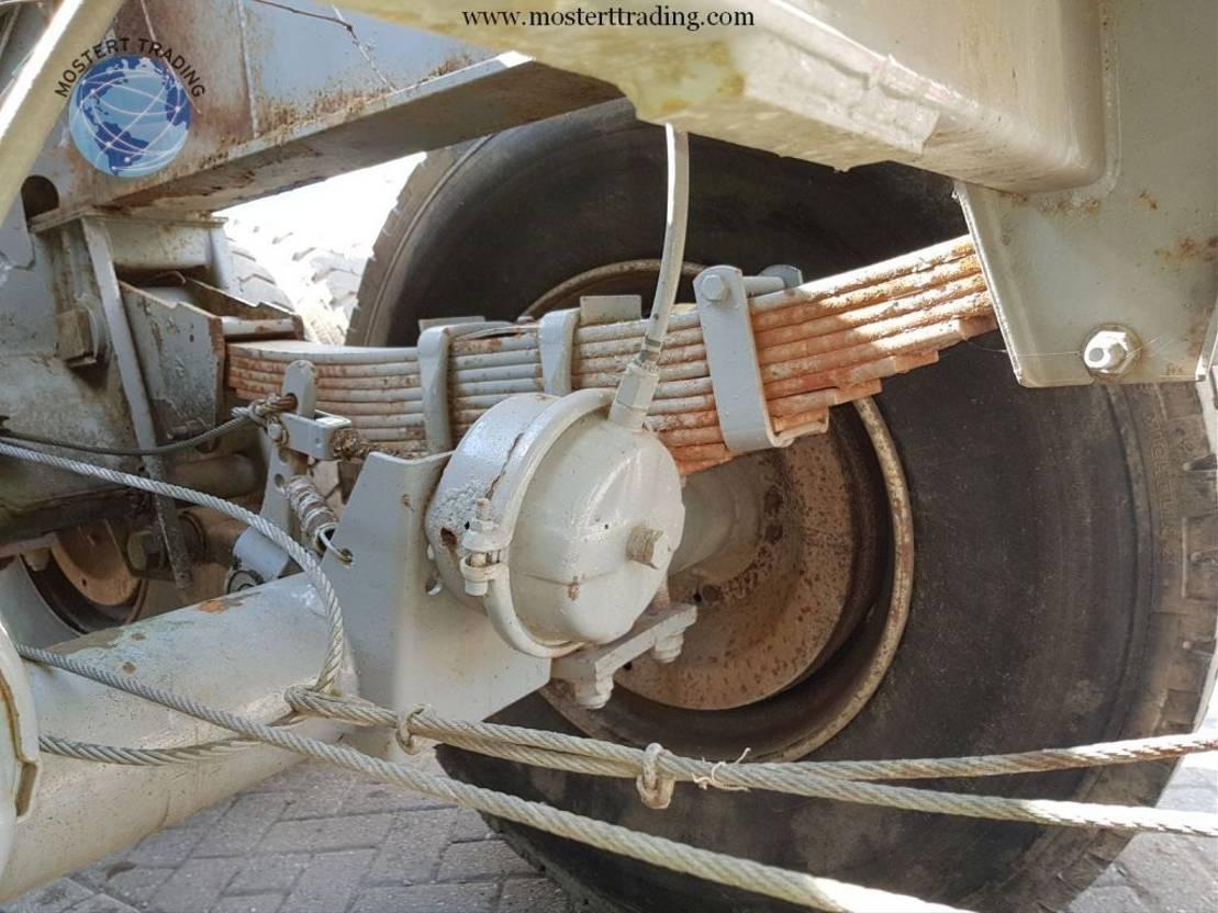 houtoplegger Diversen Bomentrailer - Drum - Steelspring 1990