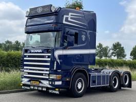 standaard trekker Scania R164 Scania 164L 480 6x2 topline / manual/ retarder 2004