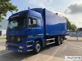 bakwagen vrachtwagen Mercedes-Benz Actros 2540 EPS 3 pedals - F04 cabin - Top condition 1998