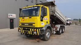 kipper vrachtwagen > 7.5 t Iveco Eurotrakker 260 E 42 (SUSP LAMES / POMPE MANUELLE / GRAND PONT) 2000