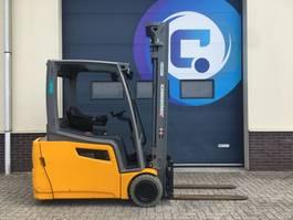 vorkheftruck Jungheinrich EFG 200 600DZ Triplex Electric - Side Shift - Year 2018 - Hours 1577 - 2x in STOCK !! 2018