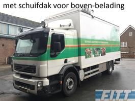 bakwagen vrachtwagen Volvo FE 260 bakwagen, schuifdak, ov klep 2012