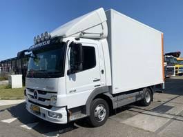 bakwagen vrachtwagen Mercedes-Benz Atego 818 4X2 - ONLY 123.580 KM + LAADKLEP DHOLLANDIA 2011