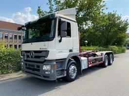 containersysteem vrachtwagen Mercedes-Benz Actros 2641 6x4 Meiller RK 20.65/Retarder/D-LKW 2013