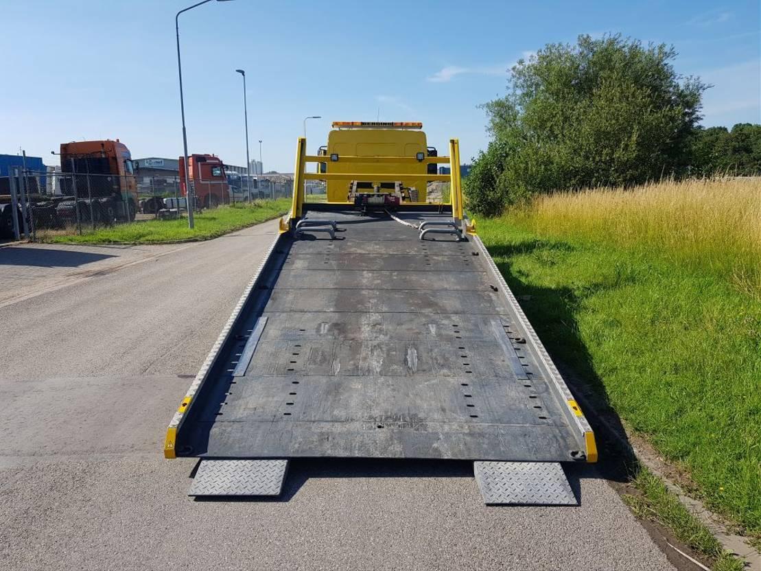 takelwagen-bergingswagen-vrachtwagen Volvo FL 280 Sliding platform liftbar 2009
