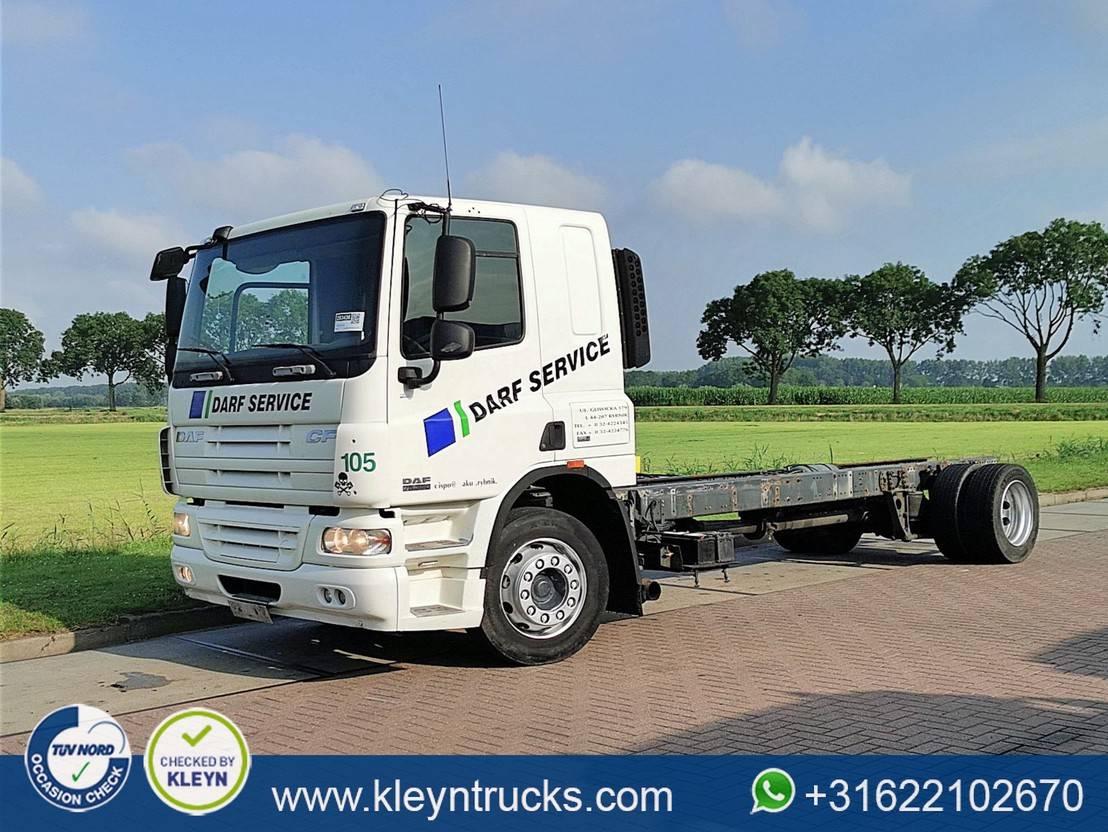 chassis cabine vrachtwagen DAF CF 75 2008