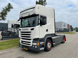 standaard trekker Scania R 410,topline, euro 6, retarder, ad-blue R 410, topline, euro 6, walking floor hydraulic, automaat 2014