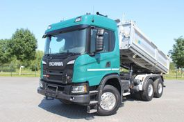 kipper vrachtwagen > 7.5 t Scania G450 XT 6X4 RETARDER MEILLER 3 WAY BORDMATIC MULDEN 3 SEITEN 2018