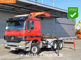 standaard trekker Mercedes-Benz Actros 2640 6X4 Big-Axle 3-Pedals Euro 3 Palfinger PK 25000CHSX 2001