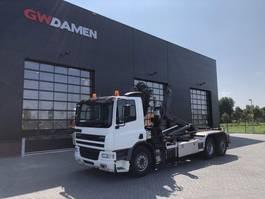 containersysteem vrachtwagen DAF CF 75.310 6x2  Haaksysteem/Kraan 2005