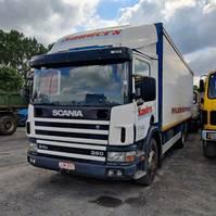 bakwagen vrachtwagen Scania 94D 260