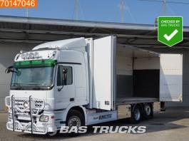 bakwagen vrachtwagen Mercedes-Benz Actros 2551 6X2 V8 Liftachse Ladebordwand PowerShift 2008