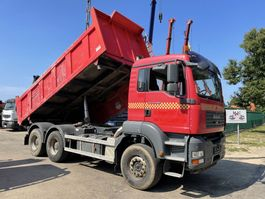 kipper vrachtwagen > 7.5 t MAN TGA 33 6x4 - 2-WAY TIPPER - BORDMATIC - RETARDER - *RENEWED ENGINE!!! Invoices available!!! - BIG AXLES - 2008