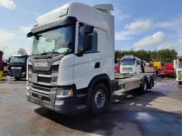 containersysteem vrachtwagen Scania G500 6x2 Hidastimella 2018