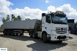 kipper vrachtwagen > 7.5 t Mercedes-Benz 2858 w/AMT 30 Tip semi 2018