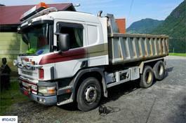 kipper vrachtwagen > 7.5 t Scania 124.400 6x2 Tipper truck with low km. Rep object 1997