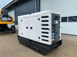 generator SDMO R 110 C3 John Deere Leroy Somer 110 kVA Rental Silent generatorset Stage 3A 2011