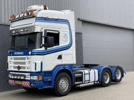 standaard trekker Scania 164-480 V8 / 6x2 / Manual / Retarder / Big axle / Boogie 2001