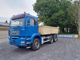 kipper vrachtwagen MAN TGA 26 TIPPER + TRACTOR UNIT-AC-MANUAL GEARBOX