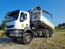 kipper vrachtwagen > 7.5 t Renault Kerax 370 DXI 6X4 Manual Retarder 2008