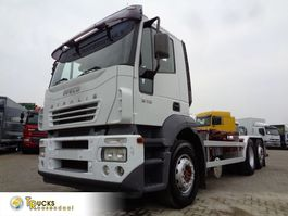 containersysteem vrachtwagen Iveco Stralis 310 + 6X2 + Hook system + 30 TON VDL 2007