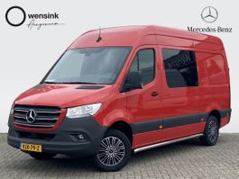 gesloten bestelwagen Mercedes-Benz 316 CDI 164PK L2H2 DUBBEL CABINE EURO 6   AUTOMAAT, AIRCO, CRUISE, MBUX,... 2021