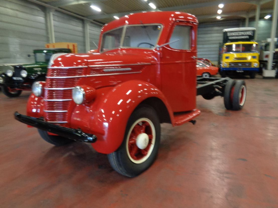 chassis cabine vrachtwagen International 4 TONNER 1949