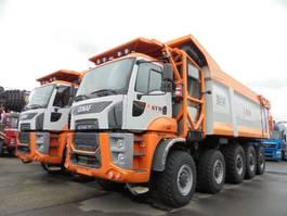 kipper vrachtwagen > 7.5 t Ginaf HD5395TS 10X6 2018