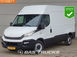 gesloten bestelwagen Iveco 35S14 140PK Automaat L2H2 Airco Cruise Euro6 10m3 A/C Cruise control 2018