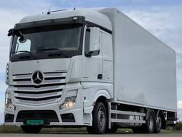 bakwagen vrachtwagen Mercedes-Benz Actros 2542 ACTROS 2542LL. EURO6. 2016.   760x249x280.  . als in NIEUWSTAAT!! 2015
