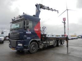 containersysteem vrachtwagen DAF XF 105 FAK 8X2 2008