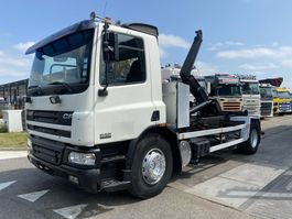 containersysteem vrachtwagen DAF CF 75 4X2 MANUAL FULL STEEL + HOOKLIFT 2001